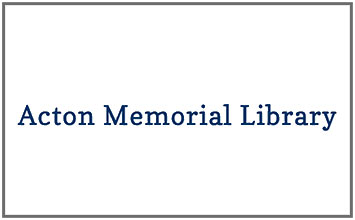 Acton Memorial Library – March 2017